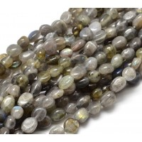 Labradorite Beads, Natural, Small Nugget