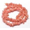 Rhodochrosite Beads, Medium Chip