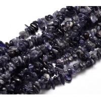 Iolite Beads, Medium Chip