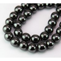 Hematite Beads, Non-Magnetic, 10mm Round