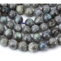Labradorite Beads, 10mm Round