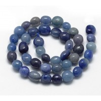 Blue Aventurine, Natural, Medium Oval Nugget