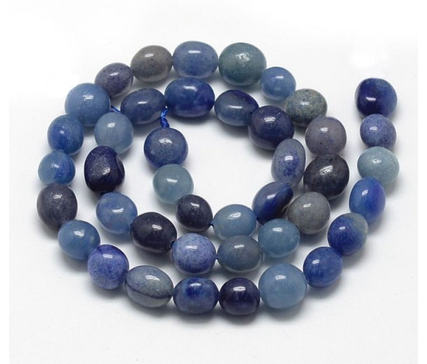 Blue Aventurine, Medium Oval Nugget