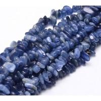 Kyanite Beads, Medium Blue, Small Chip