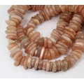 Sunstone Beads, Large Flat Chips