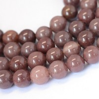 Purple Aventurine Beads, 8mm Round