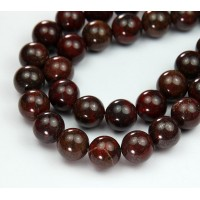 Brecciated Jasper Beads, Natural, 12mm Round