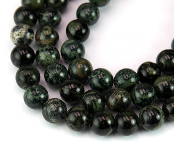 Kambaba Jasper Beads, 8mm Round