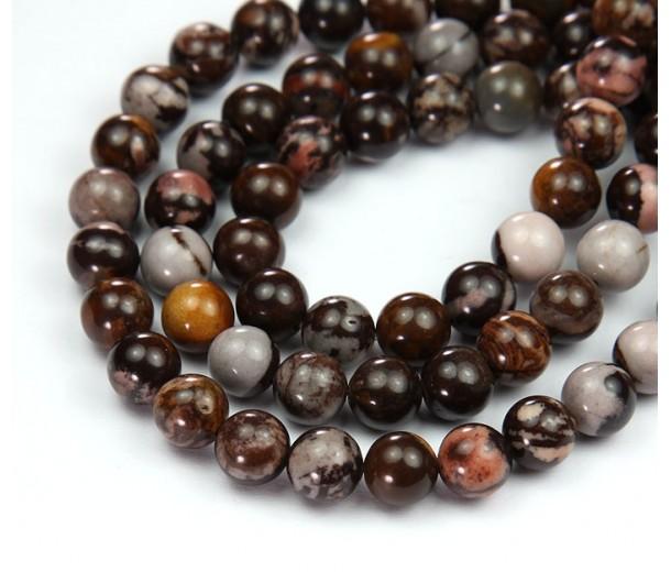 Australian Outback Jasper Beads, 6mm Round