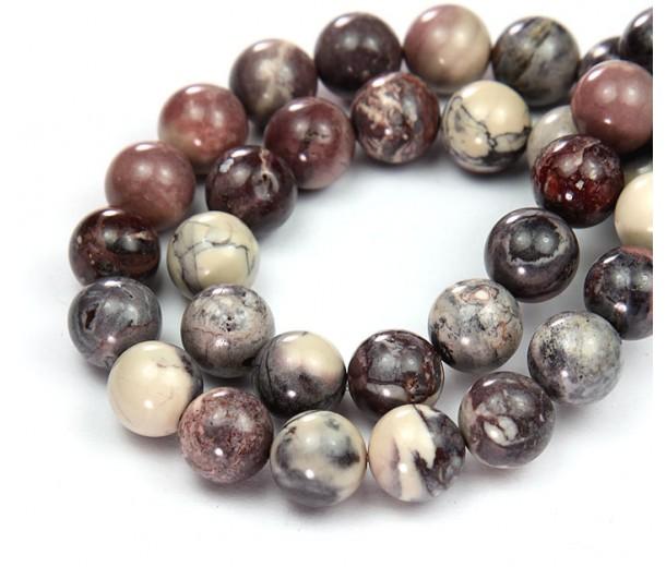 Porcelain Jasper Beads, 10mm Round