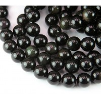 Rainbow Obsidian Beads, 10mm Round