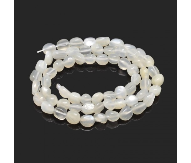 Moonstone Beads, Small Nugget