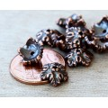 10mm Oak Leaf Bead Cap by TierraCast®, Antique Copper