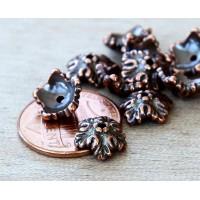 10mm Oak Leaf Bead Cap by TierraCast, An..