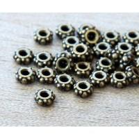4.5mm Small Turkish Bead by TierraCast, Brass Oxide