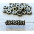4.5mm Small Turkish Bead by TierraCast, Brass Oxide, Pack of 20