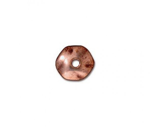 6mm Nugget Beads by TierraCast, Antique Copper, Pack of 10