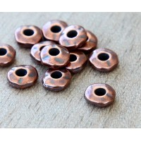 6mm Nugget Bead with 2mm Hole by TierraCast, Antique Copper