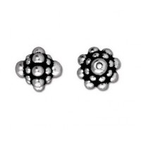 8mm Pamada Bead by TierraCast®, Antique Silver