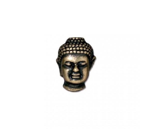 14mm Buddha Bead by TierraCast®, Brass Oxide