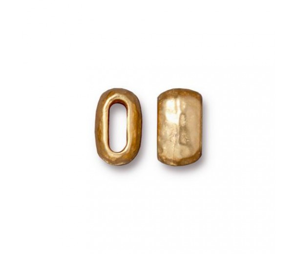 10mm Barrel Bead by TierraCast, Bright Gold