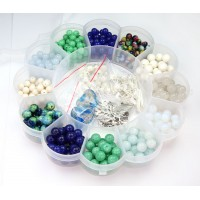 Seaside Mix Beading Kit with Organizer