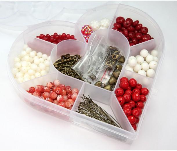 Romance Mix Beading Kit with Organizer