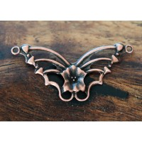 19x33mm Butterfly Connectors, Antique Copper
