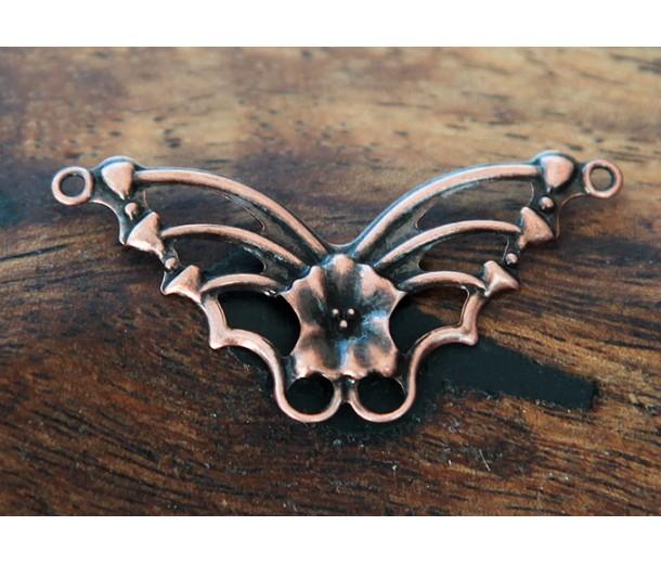 19x33mm Butterfly Connectors, Antique Copper