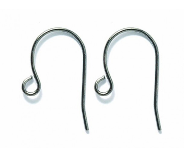 16mm Stainless Steel French Hook Ear Wires, Pack of 72