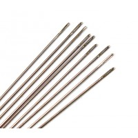 English Beading Needles, 55mm long, Size 10 (Regular), Pack of 25