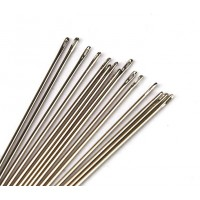 English Sharp Beading Needles, 32mm long, Size 10 (Regular)