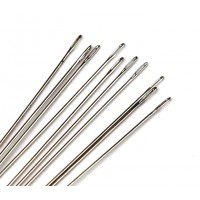 English Beading Needles, 76mm long, Size 12 (Thin), Pack of 10