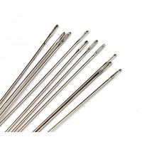 English Beading Needles, 76mm long, Size 12 (Thin)