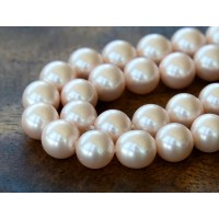 Shell Pearls, Blush Pink, 8mm Round