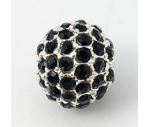 Aeku m5 12mm round rhinestone