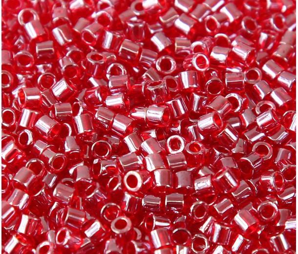 8/0 Miyuki Delica Seed Beads, Strawberry