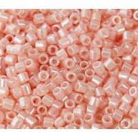 8/0 Miyuki Delica Seed Beads, Pastel Pink, 10 Gram Bag