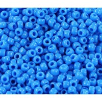 11/0 Toho Round Seed Beads, Opaque Cornflower, 10 Gram Bag
