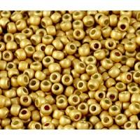 11/0 Toho Round Seed Beads, Matte Galvanized Starlight, 10 Gram Bag