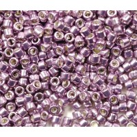11/0 Toho Treasure Seed Beads, Galvanized Lilac, 5 Gram Bag