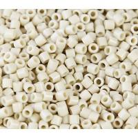 8/0 Miyuki Delica Seed Beads, Opaque Linen Luster, 10 Gram Bag