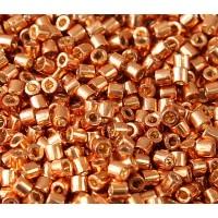 8/0 Miyuki Delica Seed Beads, Duracoat Galvanized Muscat, 10 Gram Bag