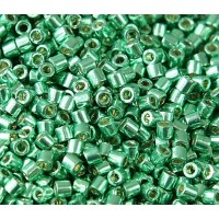 8/0 Miyuki Delica Seed Beads, Galvanized Dark Mint Green, 10 Gram Bag