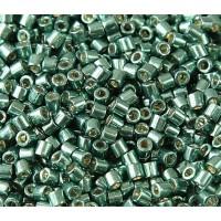 8/0 Miyuki Delica Seed Beads, Galvanized Sea Green, 10 Gram Bag