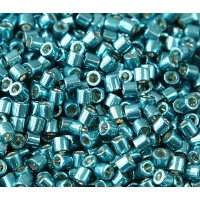 8/0 Miyuki Delica Seed Beads, Galvanized Sea Foam, 10 Gram Bag