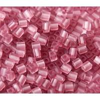 4mm Miyuki Square Beads, Matte Lilac, 10 Gram Bag