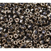 6/0 Matubo 3-Cut Seed Beads, Bronze, 5 Gram Bag