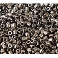 8/0 Miyuki Delica Seed Beads, Nickel Plated
