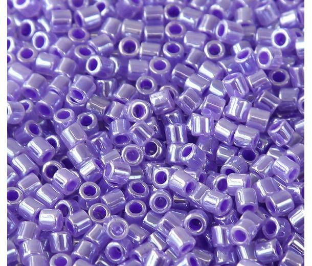 8/0 Miyuki Delica Seed Beads, Light Purple, 7 Gram Bag